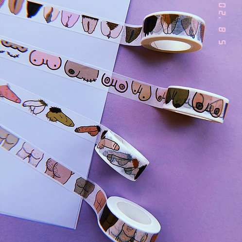 Washi tape - 4 designs