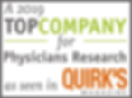 Plaza Rssearch is a top company fo physicians research as seen in Quirk's Magazine