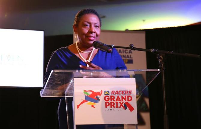 与飞人面对面-牙买加超级大奖赛新闻发布会