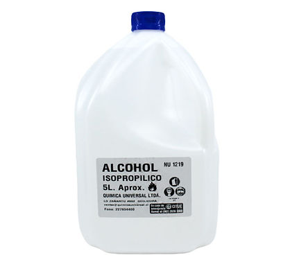 Alcohol Isopropílico, formato 5L