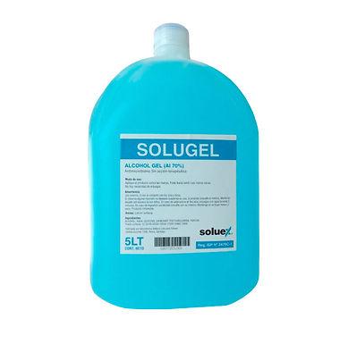 SoluGEL Alcohol Gel 70% 5 litros