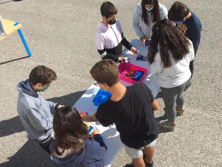 uma semana de criatividade para os alunos da escola