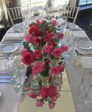Wedding table floral Design
