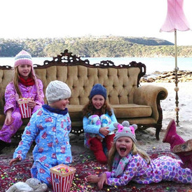 Kids on Balmoral Beach