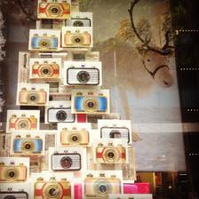 Lomography Camera's Christmas Tree