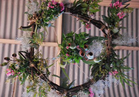 Wreath for Confetti Fair Magazine