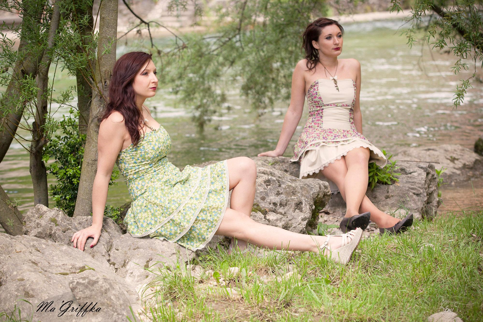 Robe Garden Party Mitsy et Daisy
