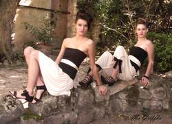 Vêtement Transformable noir blanc