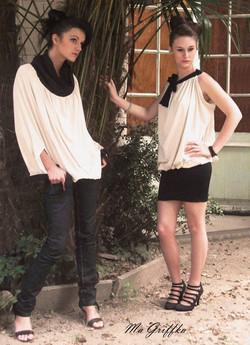 Vêtement Transformable noir et blanc
