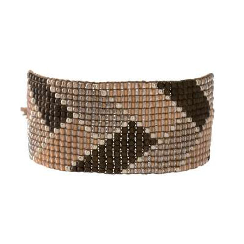 Armband Willow Rookkwarts Silver