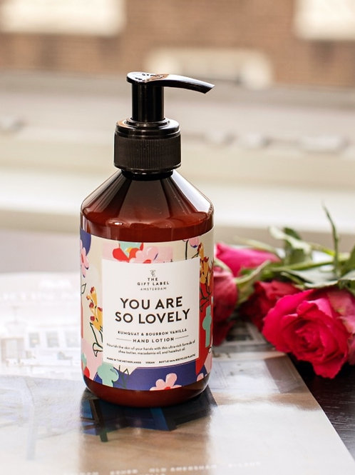 Hand lotion 250ml You are so lovely