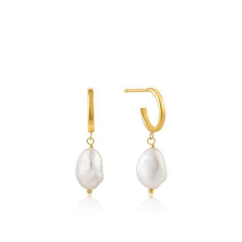 Mini Hoop earrings gold