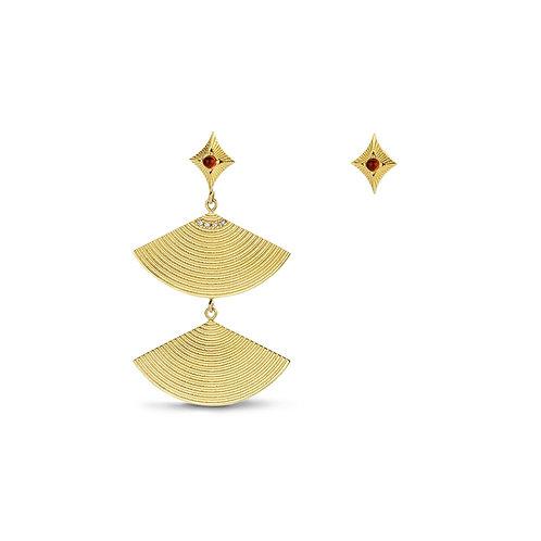 Sphinx Earrings Gold