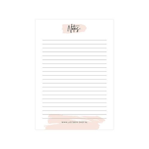 Notitieblok Notes