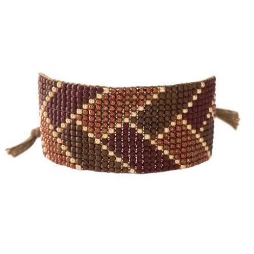 Armband Willow Granaat Goud