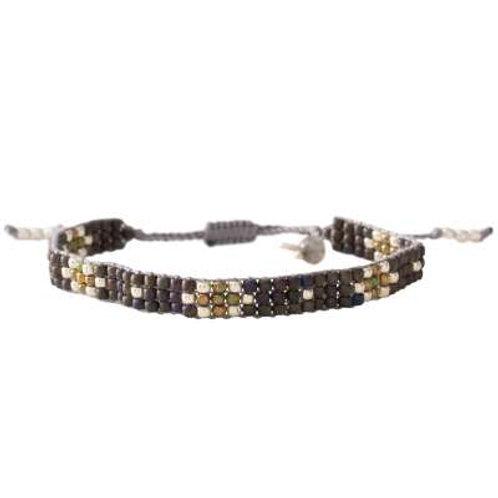Armband Summerlight Labradoriet silver