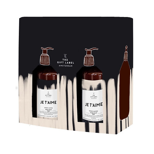 Gift set Je t'aime - Man