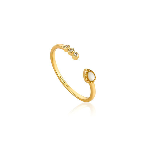 Dream adjustable ring gold