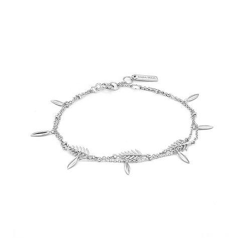 Tropic double bracelet silver