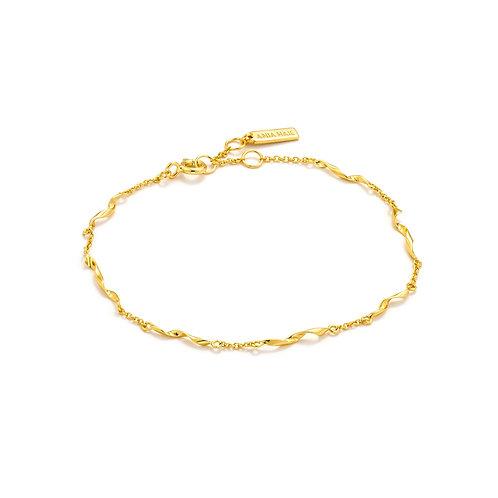 Helix Bracelet gold