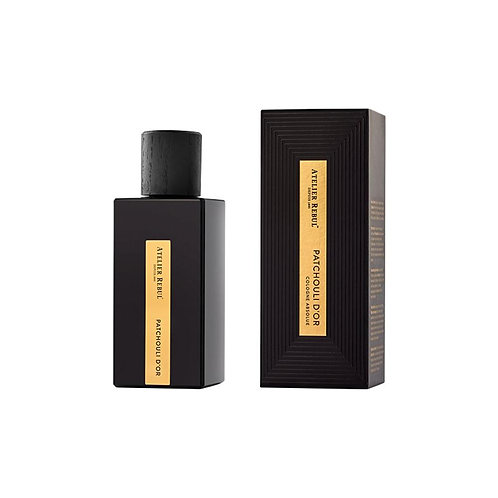 Eau de cologne 100ml Patchouli d'or unisex