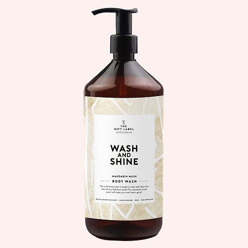 Body wash 1L Wash and shine