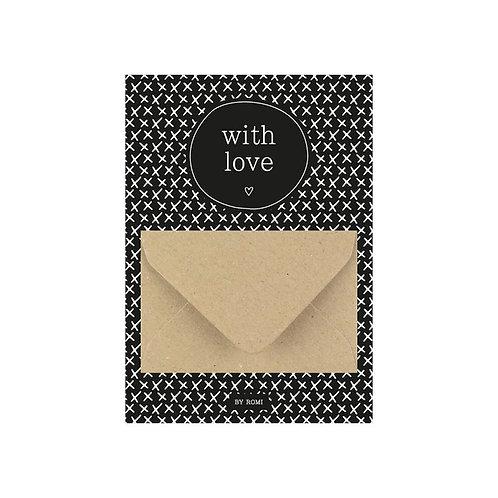Geldkaart / with Love