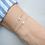 Thumbnail: Armband Galaxy Silver