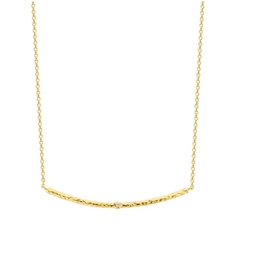 Ketting Wildflower gold