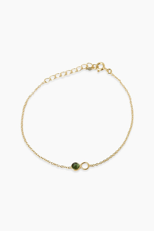 Détail armband gold plated Fiorenza