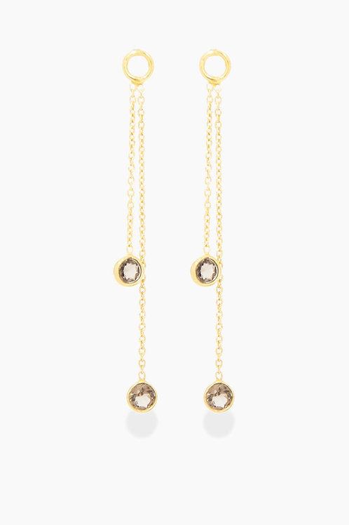 Détail oorbellen Gold plated Fiorenza