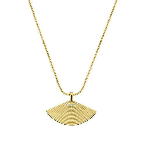 Isis Necklace Diamonds gold