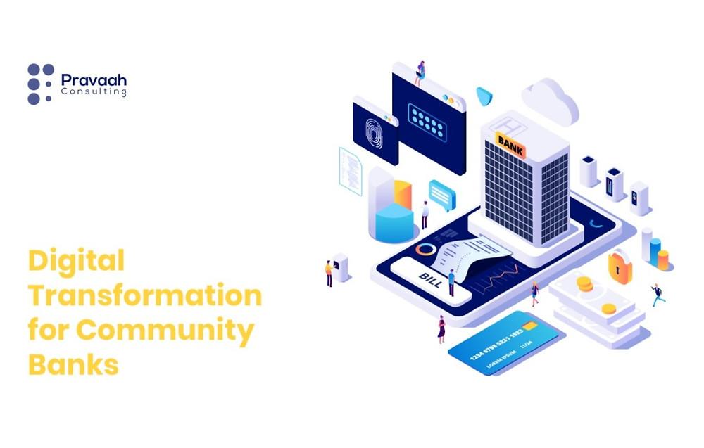 Digital transformation strategy for community banks