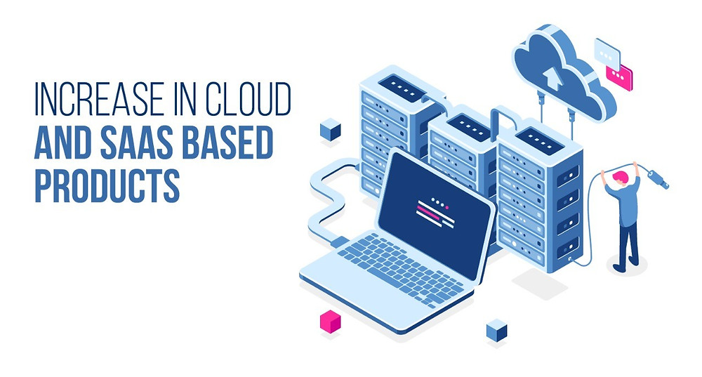Increase in Cloud IT and Software as a Service (SaaS) based products