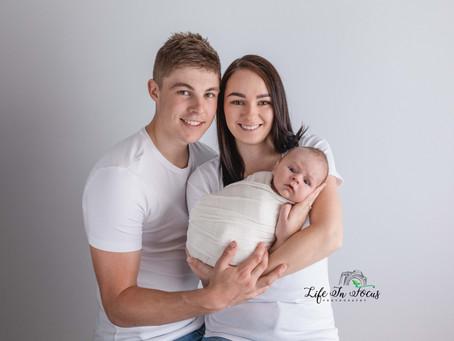 Baby Archie - Warrnambool Baby Photographer