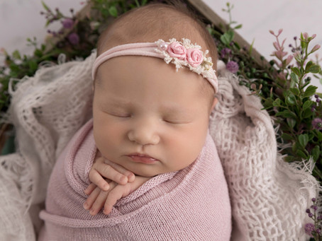 Sweet Scarlett - Warrnambool Newborn Photographer
