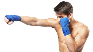 男性キックボクシング