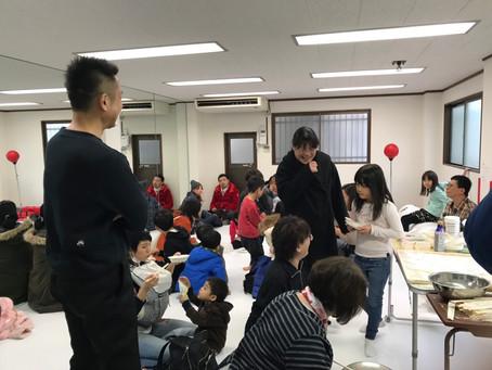 第一回おもちこねこね会開催!!2019.1.6
