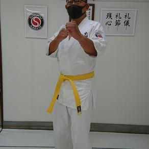 大田区 萩中 志誠會 空手 9級取得者!