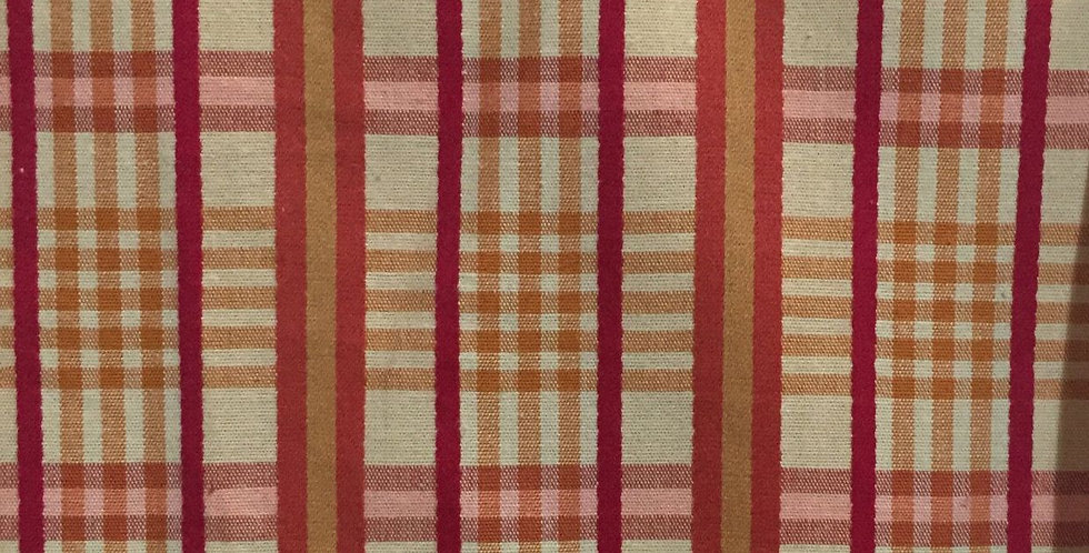Red, Orange, and Pink Plaid