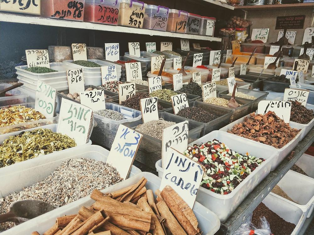 סיור בשוק הכרמל | ליאת קמחי