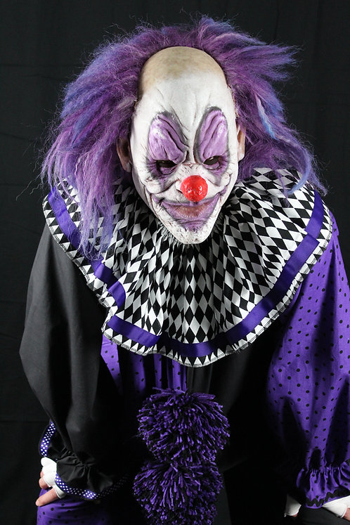 scary clown costume, freaky clown, scary clown, creepy clown, immortal mask
