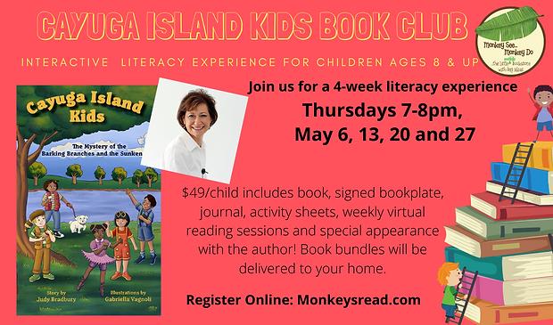 Orange Illustrated Books and Kids Teache