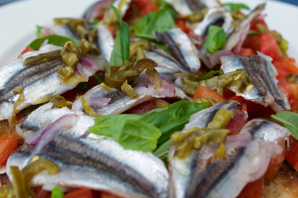 Alici marinate - Marinated anchovies