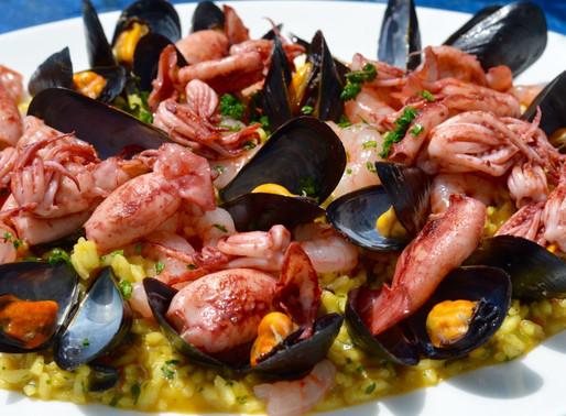 Risotto alla marinara - Seafood risotto