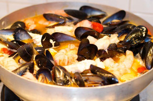 Burrida di pesce allo zenzero - Burrida Fish Soup