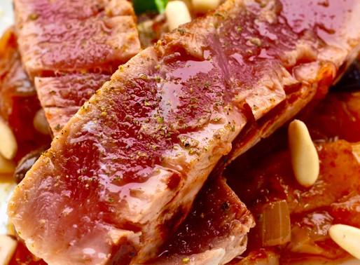Cipollata di tonno - Tuna with onion stew