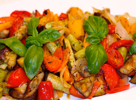 Misto di verdure al forno - Misture of baked vegetables