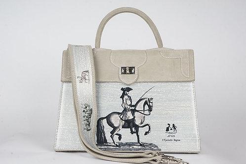 Marquise daim gris tourterelle cavalier  9098