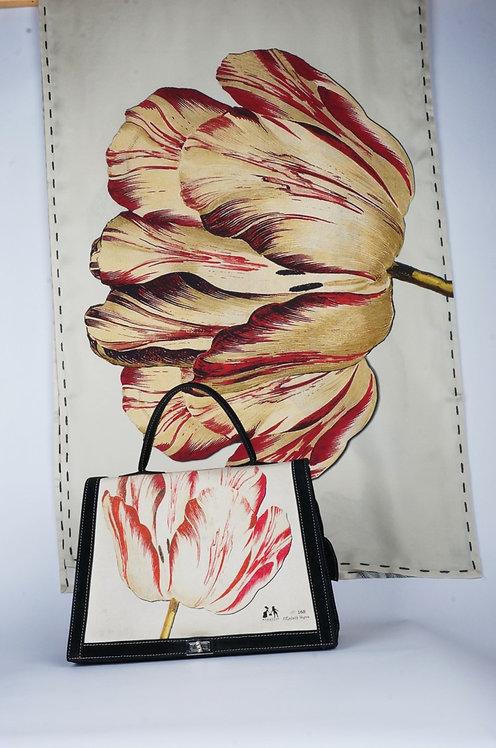 """""""la tulipe et le geai """" rouge tourterelle"""